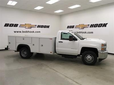 2018 Silverado 3500 Regular Cab DRW 4x4,  Monroe MSS II Service Body #180700 - photo 3