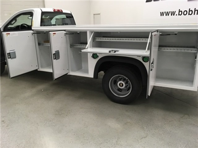 2018 Silverado 3500 Regular Cab DRW 4x4,  Monroe MSS II Service Body #180700 - photo 21