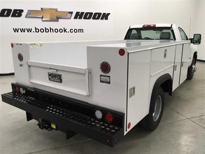 2018 Silverado 3500 Regular Cab DRW 4x4,  Monroe MSS II Service Body #180700 - photo 4