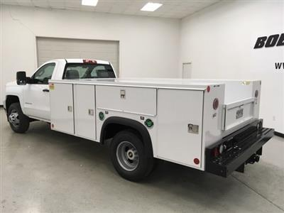 2018 Silverado 3500 Regular Cab DRW 4x4,  Monroe MSS II Service Body #180700 - photo 2