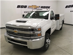 2018 Silverado 3500 Regular Cab DRW 4x4,  Monroe Service Body #180700 - photo 1