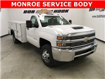 2018 Silverado 3500 Regular Cab DRW 4x4,  Monroe MSS II Service Body #180700 - photo 22