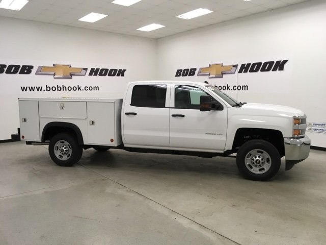 2018 Silverado 2500 Crew Cab, Monroe Service Body #180739 - photo 3