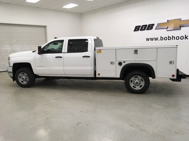 2018 Silverado 2500 Crew Cab 4x2,  Monroe Service Body #180740 - photo 6