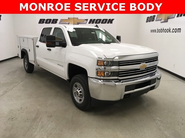 2018 Silverado 2500 Crew Cab 4x2,  Monroe Service Body #180740 - photo 25