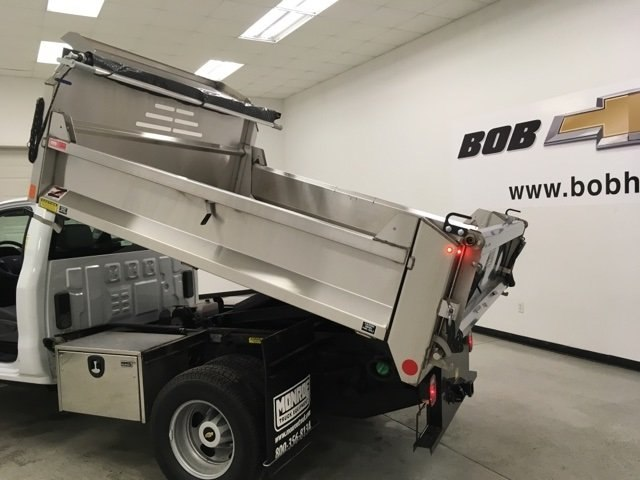2018 Silverado 3500 Regular Cab DRW 4x4,  Monroe Dump Body #180792 - photo 15