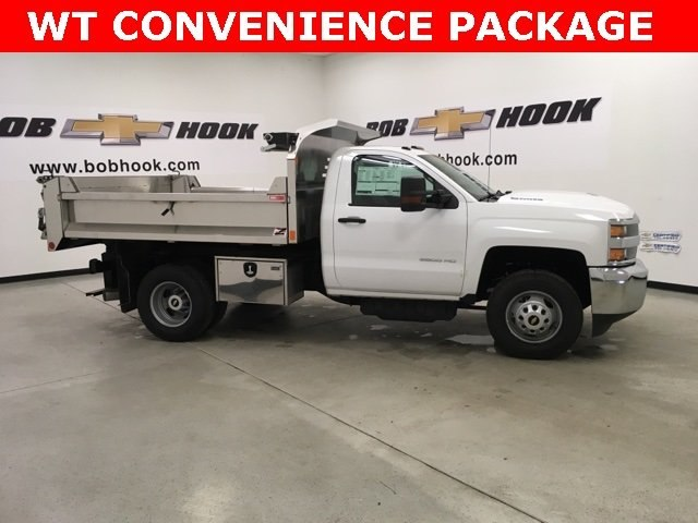 2018 Silverado 3500 Regular Cab DRW 4x4,  Monroe Dump Body #180792 - photo 4