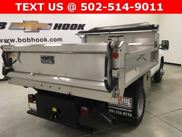 2018 Silverado 3500 Regular Cab DRW 4x4,  Monroe Dump Body #180792 - photo 5