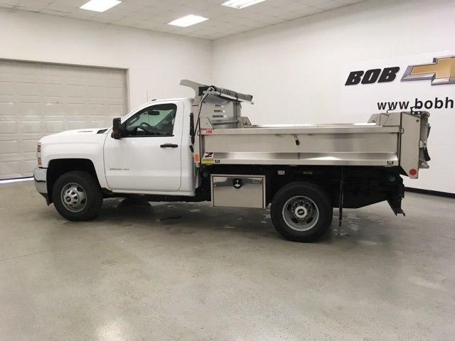 2018 Silverado 3500 Regular Cab DRW 4x4,  Monroe Dump Body #180792 - photo 7