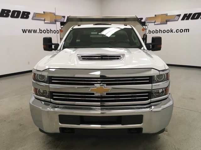 2018 Silverado 3500 Regular Cab DRW 4x4,  Monroe Dump Body #180792 - photo 8