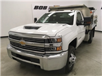 2018 Silverado 3500 Regular Cab DRW 4x4,  Monroe Dump Body #180792 - photo 1