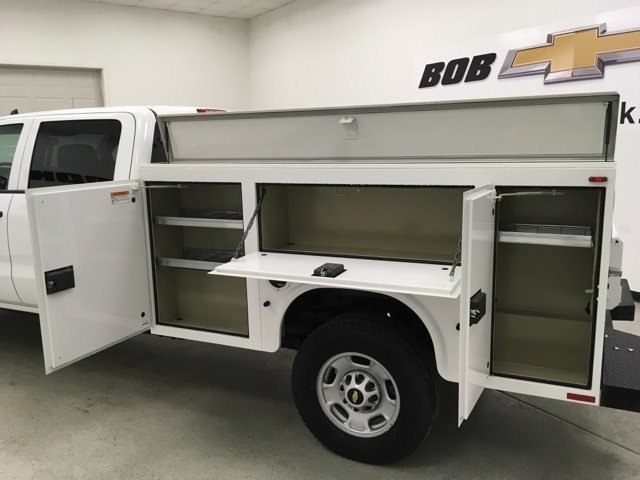 2018 Silverado 2500 Crew Cab 4x4,  Knapheide Service Body #180860 - photo 16