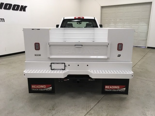 2018 Silverado 3500 Crew Cab DRW 4x4,  Reading Service Body #180880 - photo 4