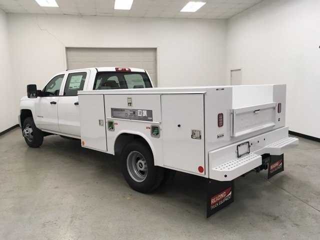 2018 Silverado 3500 Crew Cab DRW 4x4,  Reading Service Body #180880 - photo 5