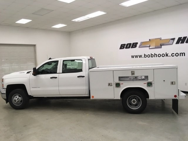 2018 Silverado 3500 Crew Cab DRW 4x4,  Reading Service Body #180880 - photo 6