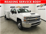 2018 Silverado 3500 Crew Cab DRW 4x4,  Reading Service Body #180880 - photo 1