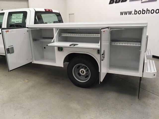 2018 Silverado 3500 Crew Cab DRW 4x4,  Reading Service Body #180891 - photo 15
