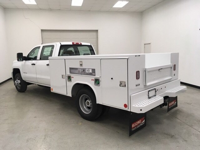 2018 Silverado 3500 Crew Cab DRW 4x4,  Reading Service Body #180891 - photo 5