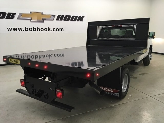 2018 Silverado 3500 Regular Cab DRW 4x2,  Palfinger Platform Body #180892 - photo 2