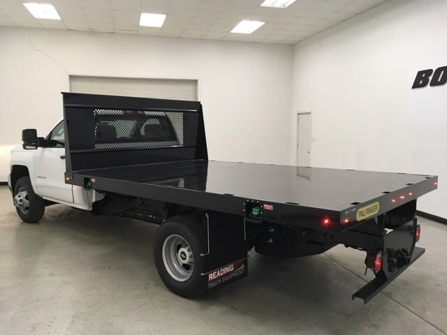 2018 Silverado 3500 Regular Cab DRW 4x2,  Palfinger Platform Body #180892 - photo 5