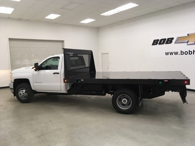 2018 Silverado 3500 Regular Cab DRW 4x2,  Palfinger Platform Body #180892 - photo 6