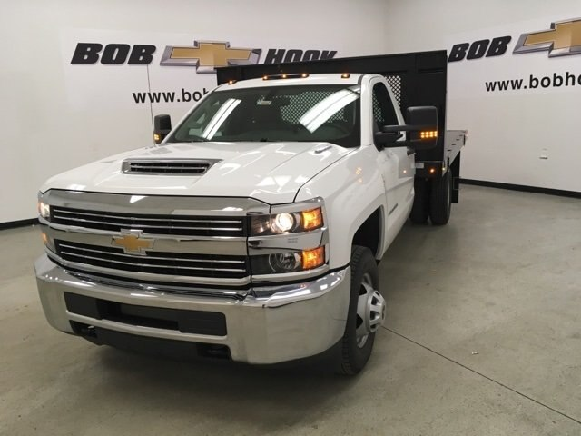 2018 Silverado 3500 Regular Cab DRW 4x2,  Palfinger Platform Body #180892 - photo 7