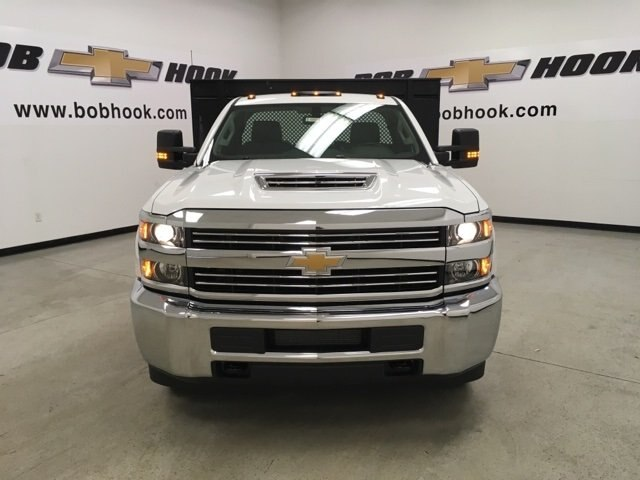 2018 Silverado 3500 Regular Cab DRW 4x2,  Palfinger Platform Body #180892 - photo 8