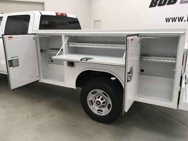 2018 Silverado 2500 Crew Cab 4x2,  Reading SL Service Body #180918 - photo 17