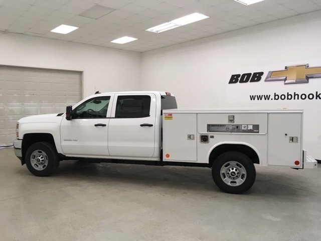 2018 Silverado 2500 Crew Cab 4x2,  Reading SL Service Body #180918 - photo 7