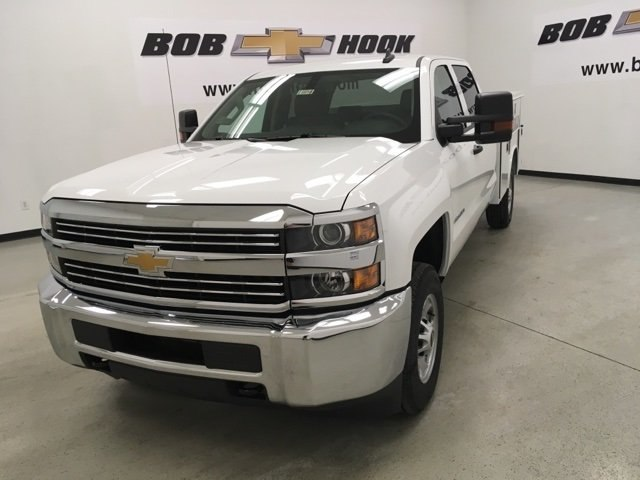 2018 Silverado 2500 Crew Cab 4x2,  Reading SL Service Body #180918 - photo 1