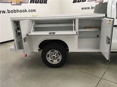 2018 Silverado 2500 Crew Cab 4x2,  Reading SL Service Body #180918 - photo 14