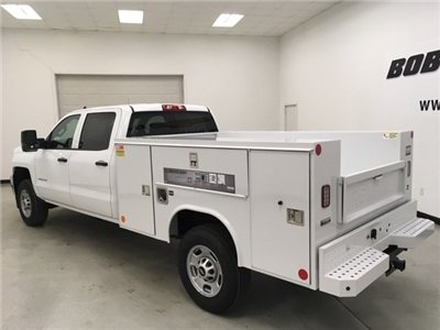 2018 Silverado 2500 Crew Cab 4x2,  Reading SL Service Body #180918 - photo 2
