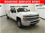 2018 Silverado 2500 Crew Cab 4x2,  Reading SL Service Body #180918 - photo 3
