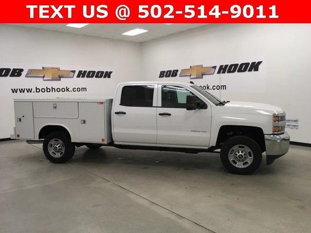 2018 Silverado 2500 Crew Cab 4x2,  Reading Service Body #180926 - photo 4