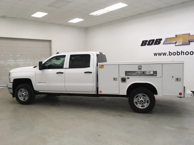 2018 Silverado 2500 Crew Cab 4x2,  Reading Service Body #180926 - photo 7