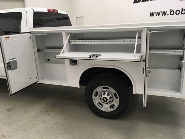 2018 Silverado 2500 Crew Cab 4x4,  Reading Service Body #180955 - photo 18