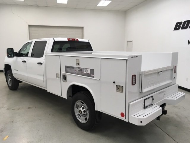 2018 Silverado 2500 Crew Cab 4x4,  Reading Service Body #180955 - photo 2