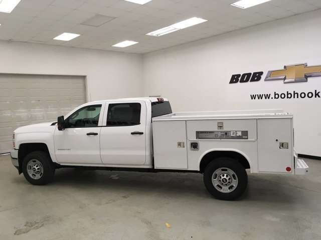 2018 Silverado 2500 Crew Cab 4x4,  Reading Service Body #180955 - photo 7