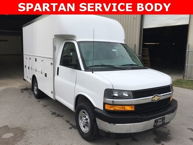 2018 Express 3500 4x2,  Supreme Service Utility Van #181046 - photo 3