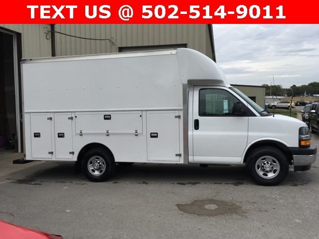 2018 Express 3500 4x2,  Supreme Service Utility Van #181046 - photo 4
