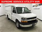 2018 Express 3500 4x2,  Supreme Service Utility Van #181073 - photo 1