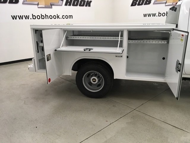 2019 Silverado 3500 Regular Cab DRW 4x4,  Reading SL Service Body #190034 - photo 13