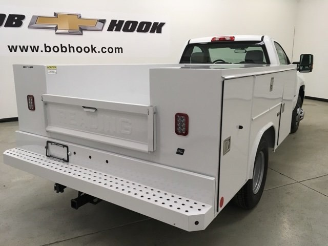 2019 Silverado 3500 Regular Cab DRW 4x4,  Reading SL Service Body #190034 - photo 2