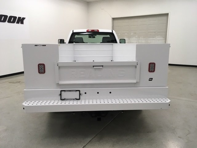 2019 Silverado 3500 Regular Cab DRW 4x4,  Reading SL Service Body #190034 - photo 4