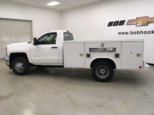 2019 Silverado 3500 Regular Cab DRW 4x4,  Reading Service Body #190034 - photo 6