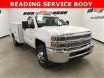 2019 Silverado 3500 Regular Cab DRW 4x4,  Reading SL Service Body #190034 - photo 1