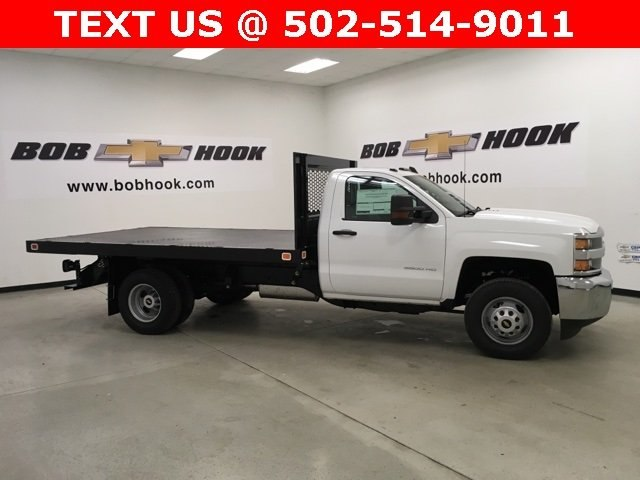 2019 Silverado 3500 Regular Cab DRW 4x2,  Knapheide Platform Body #190035 - photo 3
