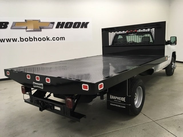 2019 Silverado 3500 Regular Cab DRW 4x2,  Knapheide Platform Body #190035 - photo 2