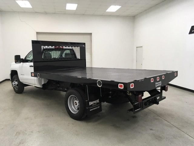 2019 Silverado 3500 Regular Cab DRW 4x2,  Knapheide Platform Body #190035 - photo 5