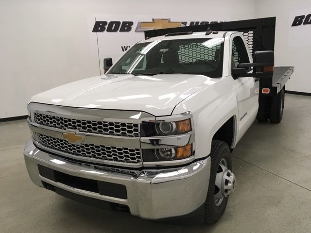 2019 Silverado 3500 Regular Cab DRW 4x2,  Knapheide Platform Body #190035 - photo 7